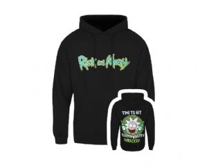 Rick & Morty Wrecked Hoody